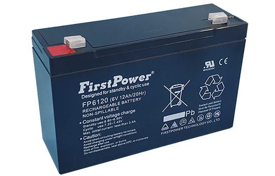Ắc quy First Power FP6120 (6V-12Ah)