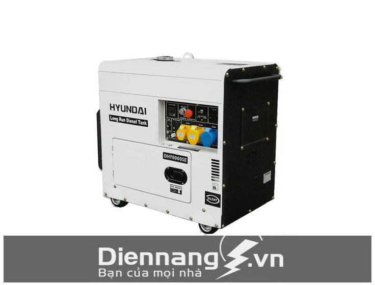Máy Phát Điện Hyundai 3 Pha - DHY1100KSE (1000KVA - 1100KVA)