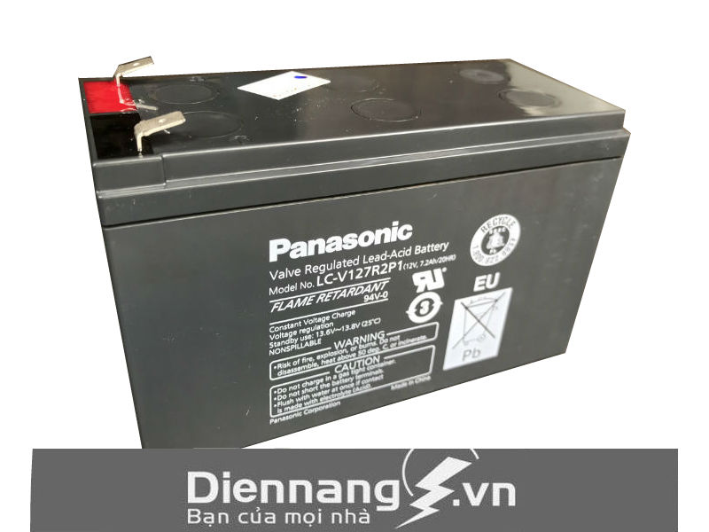 Ắc quy Panasonic LC-V127R2P1/NA (12V - 7.2Ah)
