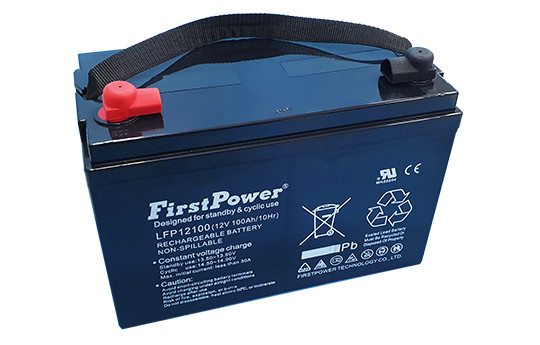 Ắc quy First Power LFP12100 (12V-100Ah)