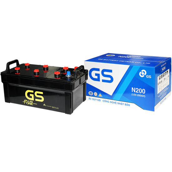 Ắc quy GS N200 (12V - 200Ah)