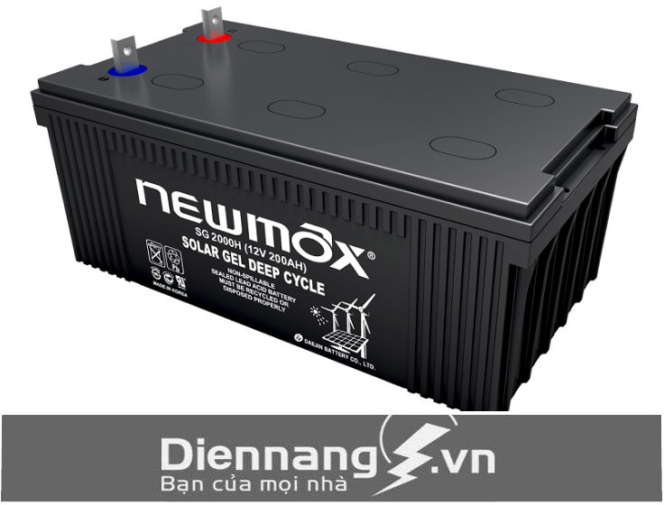 Ắc quy Newmax Gel SG 2000H (12v-200Ah)