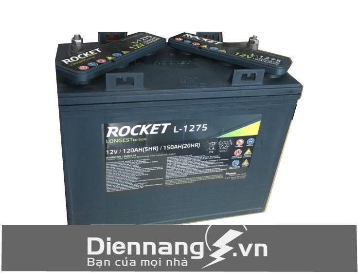 Ắc quy xe điện xe Golf ROCKET L-1275 (GC2-1275) (12V - 150Ah)
