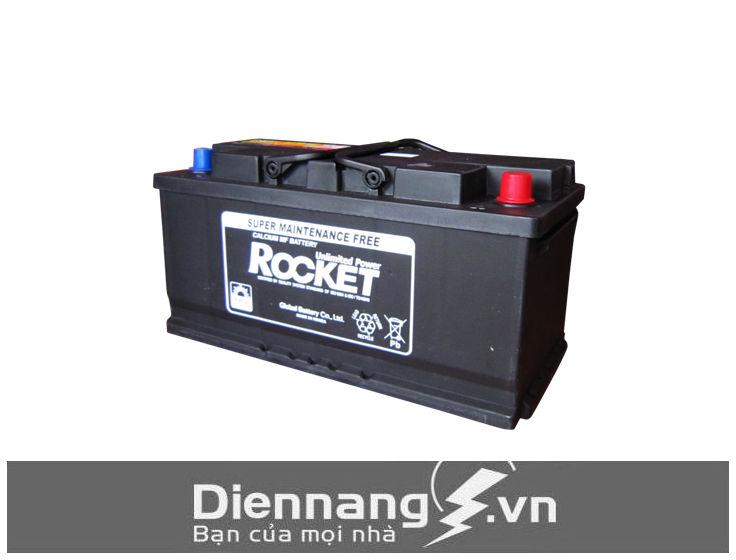 Ắc quy Rocket SMF 57113 (12V - 71Ah) - Cọc nghịch