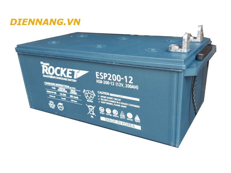 Ắc quy Rocket (viễn thông) ESP200-12 (12V-200Ah)