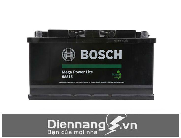 Ắc quy khô Bosch Din 58815 (12V - 88Ah) cọc thụt