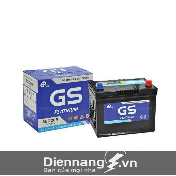 Ắc quy GS MF 80D26R (12V - 70Ah)