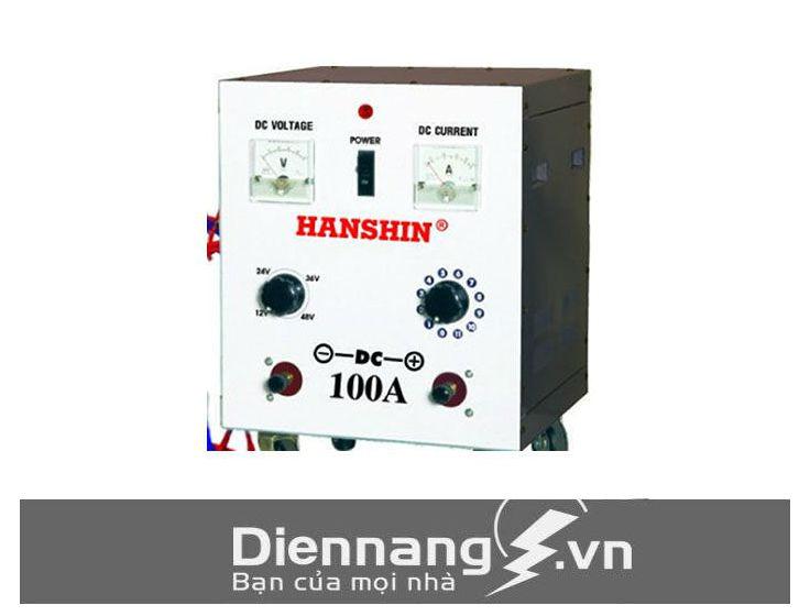 Sạc tăng giảm Hanshin 100A/ dây đồng