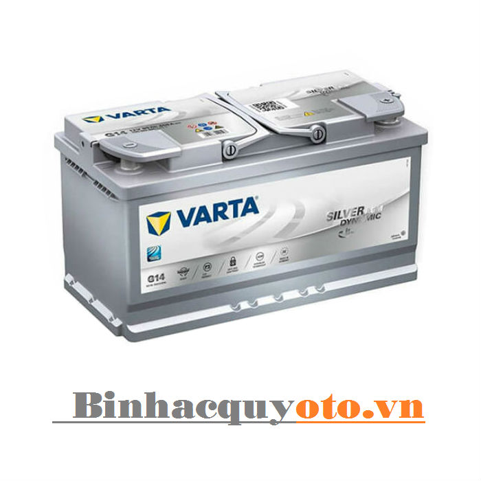 Ắc quy Varta AGM Din LN5 595901085 (12V - 95Ah)