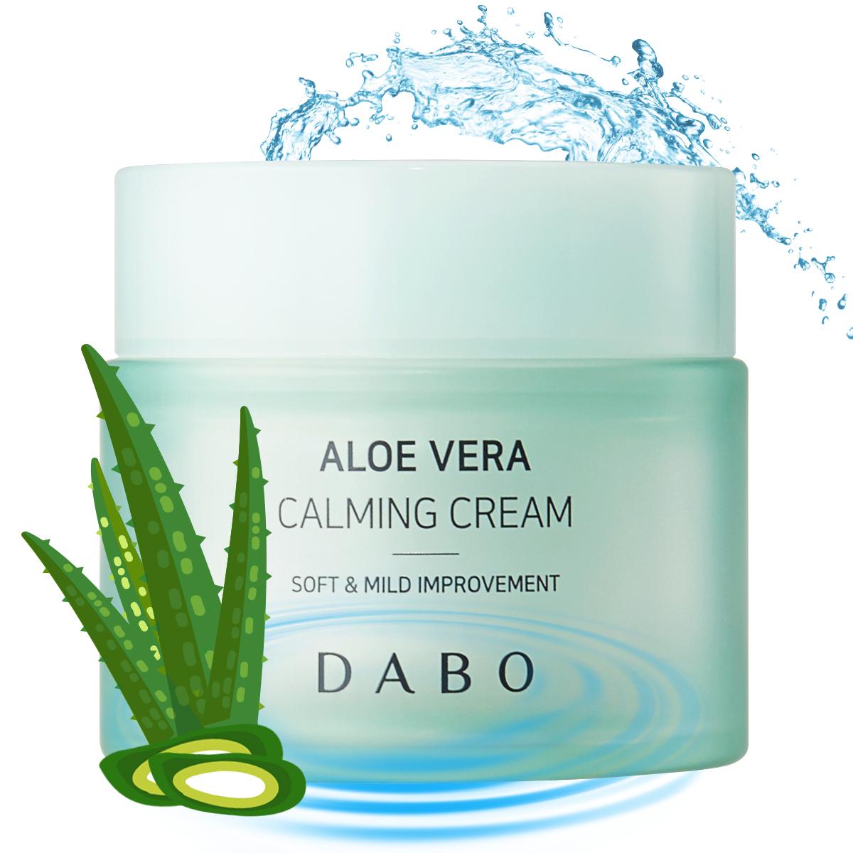 Kem dưỡng da Lô Hội cao cấp - Dabo Aloe Vera Calming Cream 50ml