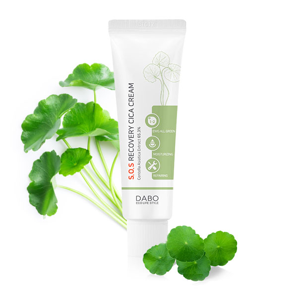 Kem cao cấp phục hồi tái tạo da - DABO S.O.S Recovery CICA Cream