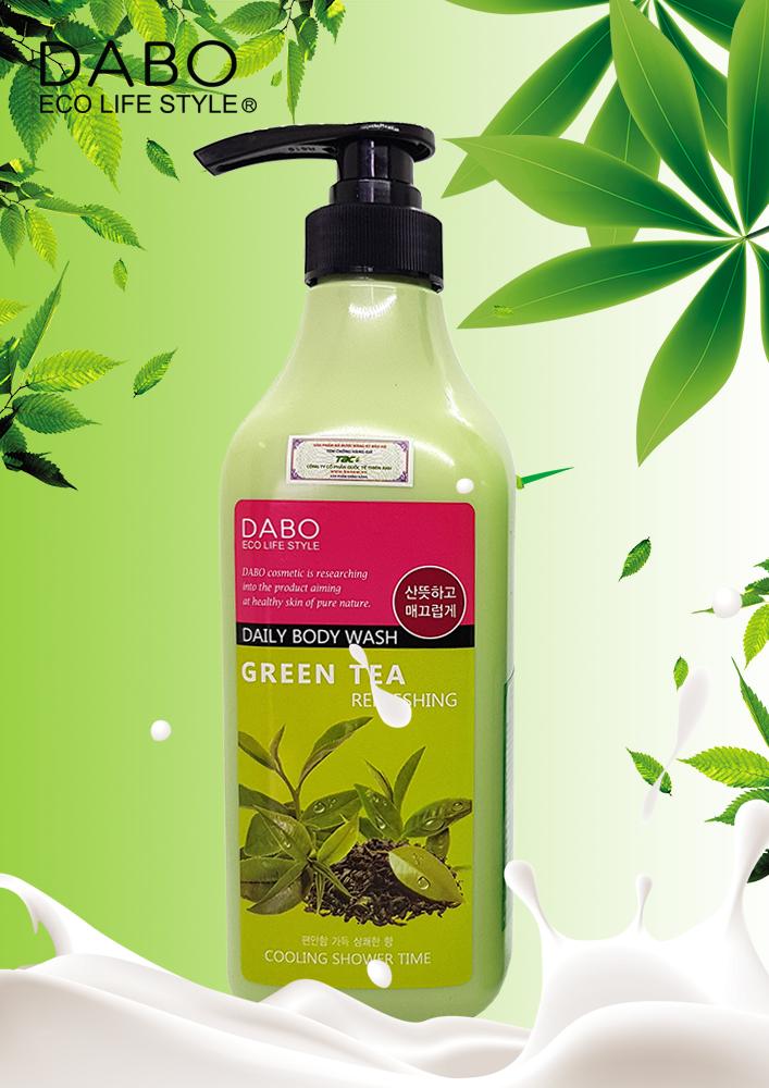 Sữa tắm trà xanh cao cấp - Dabo Green Tea Body Wash