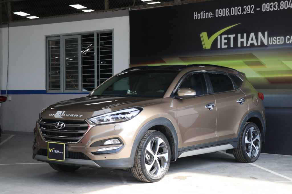 Hyundai Tucson Turbo 1.6AT 2017