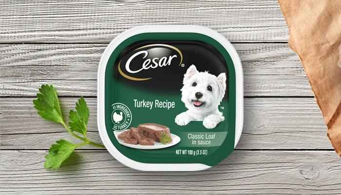 Cesar Canine Cuisine Turkey in Meaty Juice 100g