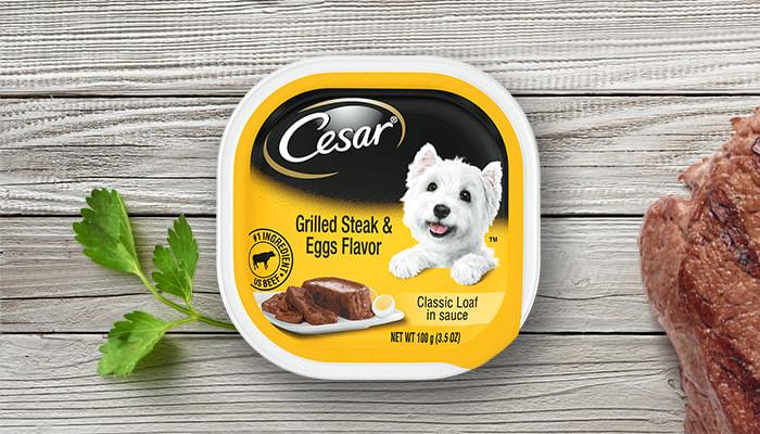 Cesar Sunrise Grilled Steak & Eggs Flavor 100g