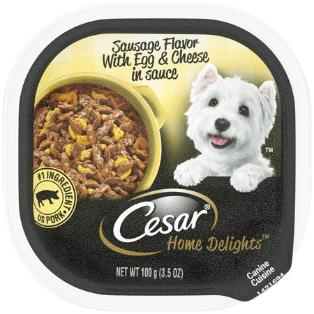 Cesar Sausage Flavor With Egg & Cheese In Saucedd 100g