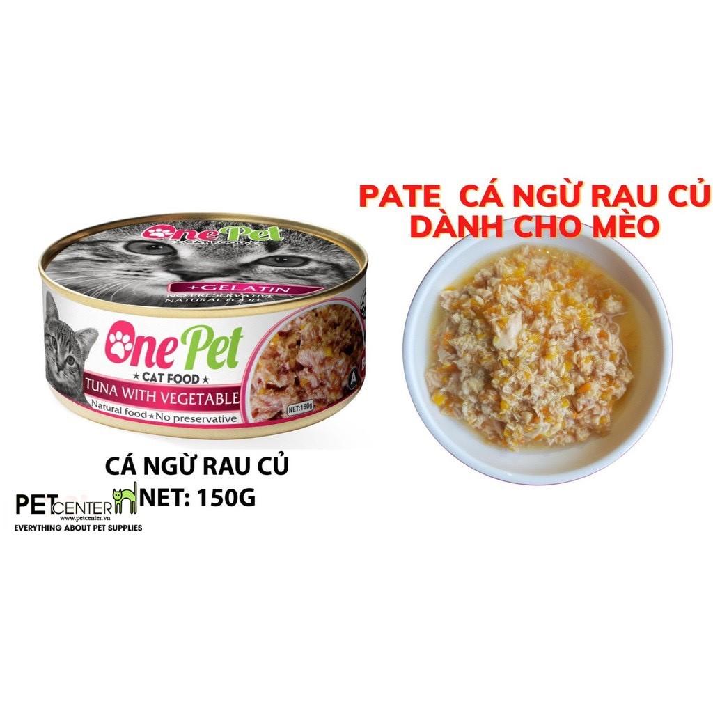 Pate One Pet - Vị Cá Ngừ & Rau Củ 150gr