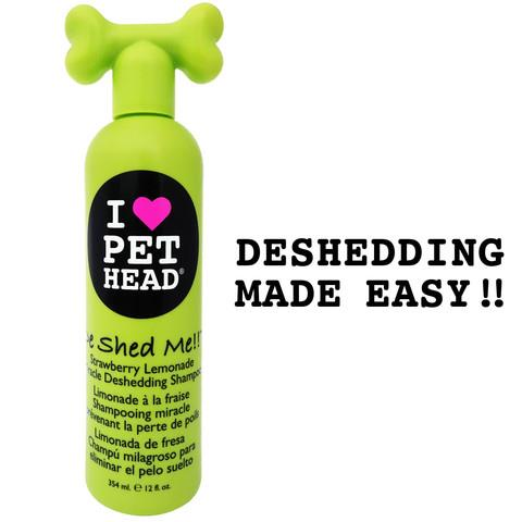 De Shed Me Miracle Deshedding Shampoo 12oz