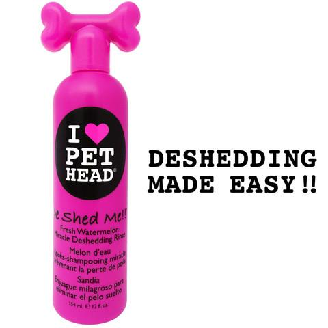 De Shed Me Miracle Deshedding Shampoo 12oz