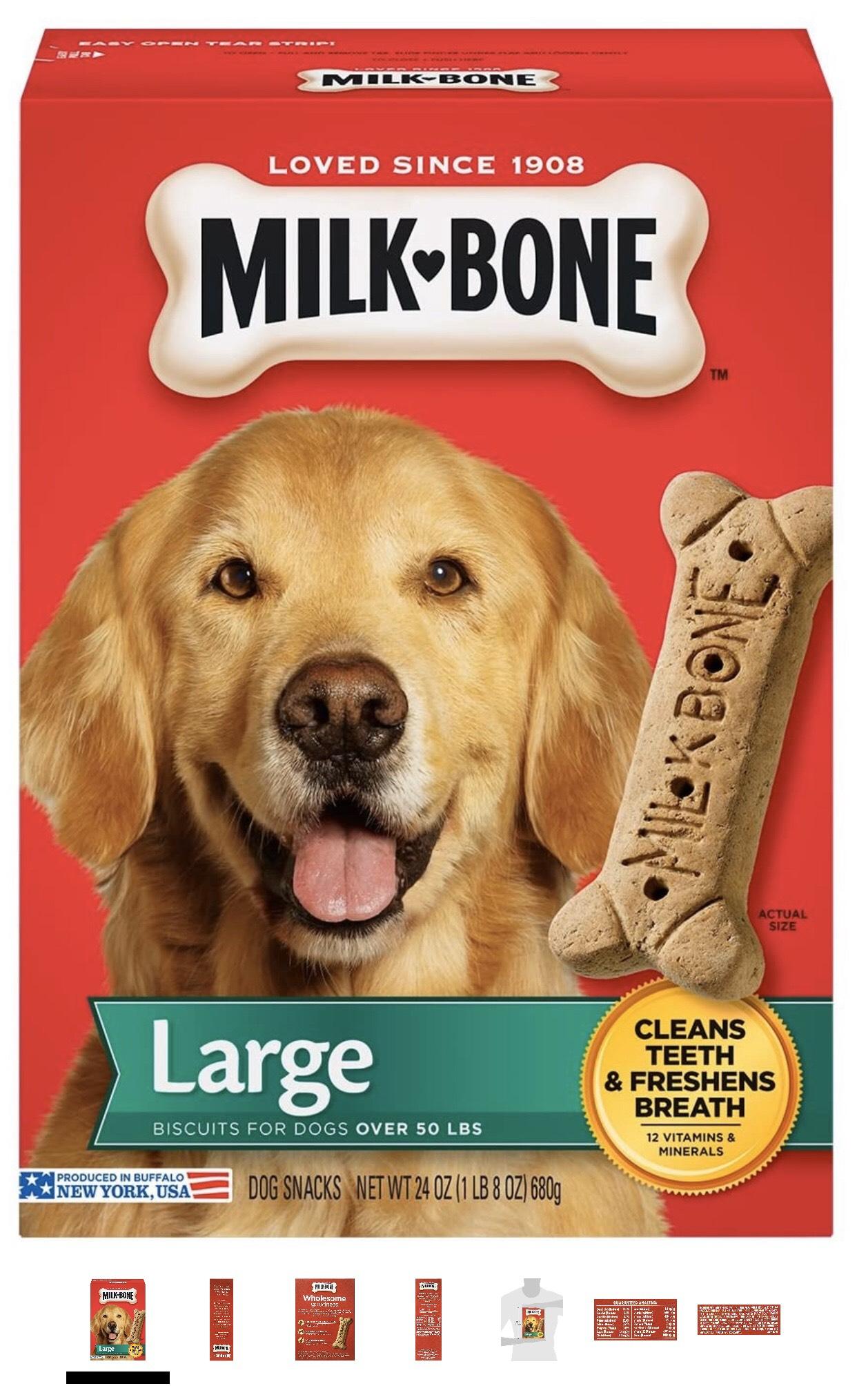 Milk-Bone Original Dog Treats, Cleans Teeth, Freshens Breath 680g