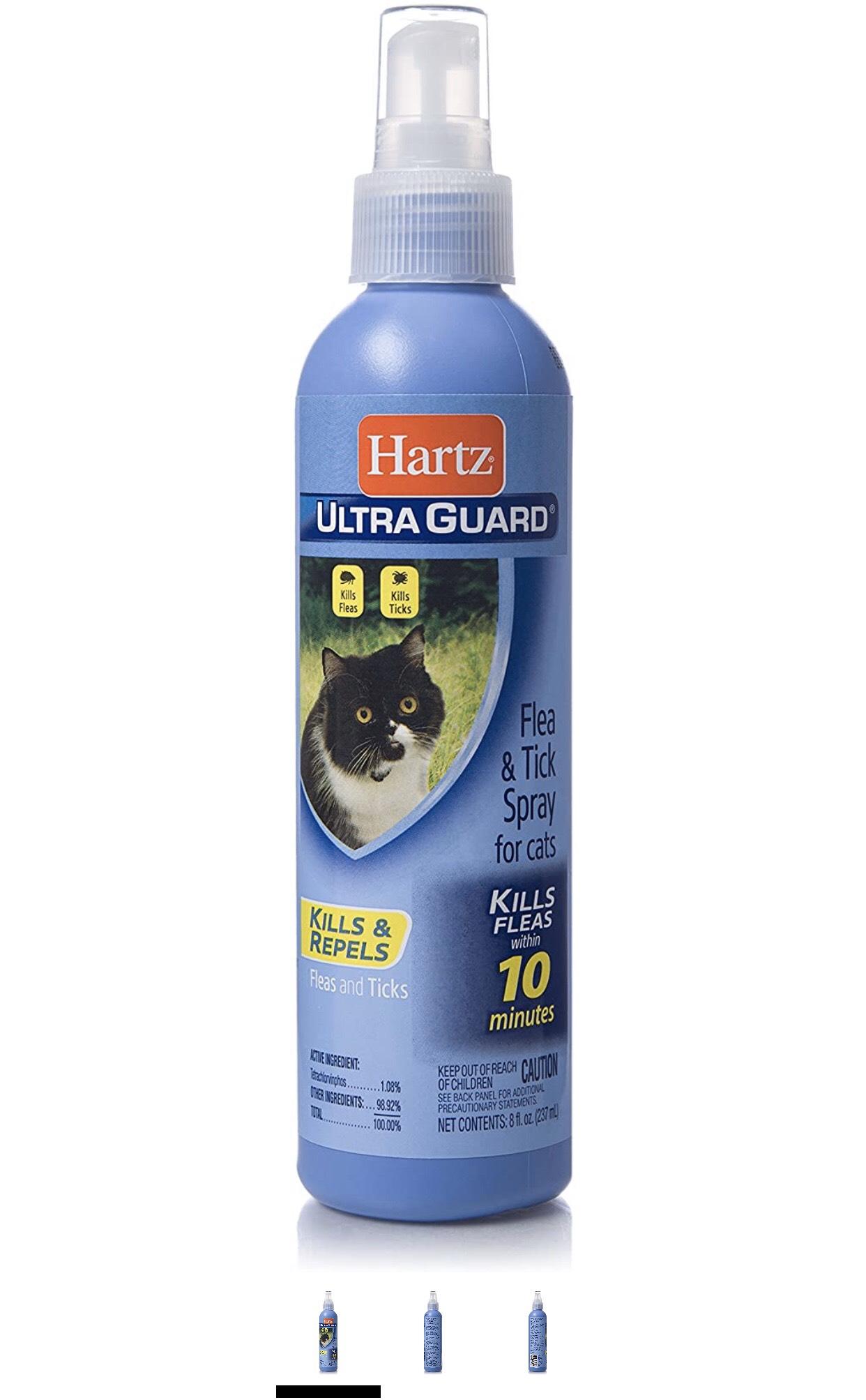 Hartz Ultra Guard Flea & Tick Spray for Cats