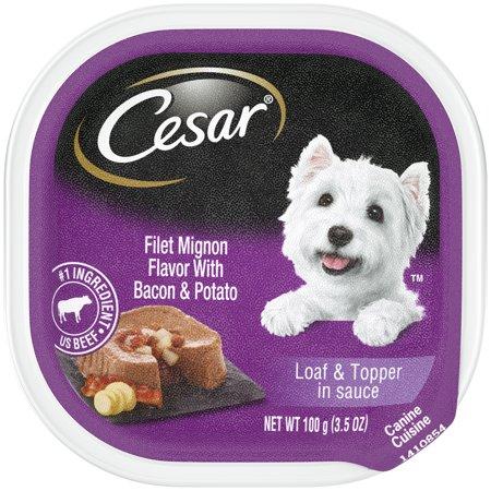 Cesar Savory Bacon&Potato 100g