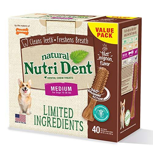 Nylabone Nutri Dent Limited Ingreddients Medium for Dog 15-30lbs 1080g