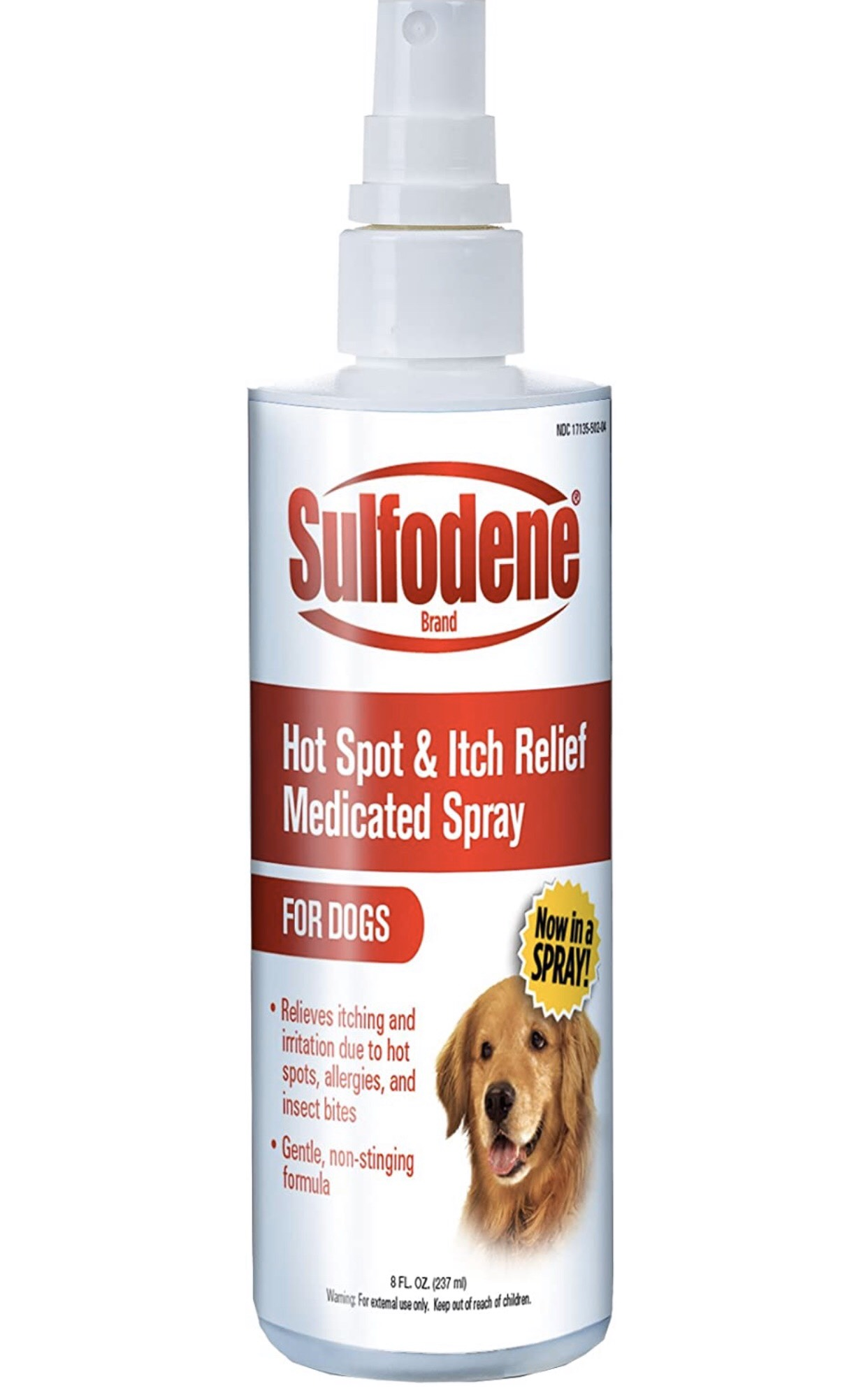 Sulfodene Hot Spot & Itch Relief Medicated Spray For Dogs 237ml