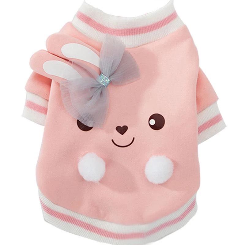 Áo thun hình thỏ cute