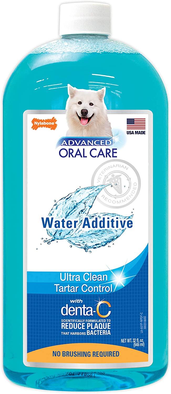 Nước vệ sinh răng miệng cho chó - Nylabone Advanced Oral Care Water Additive Dental 946ml