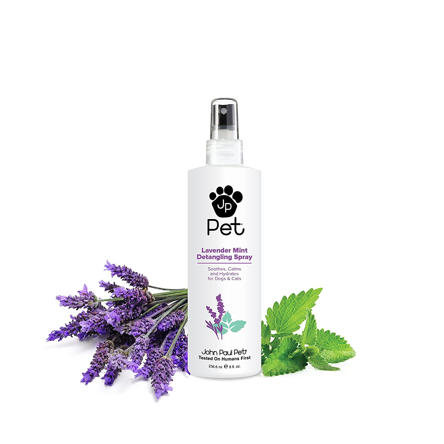 John Paul Pet Lavender Mint Detangling Spray for Dogs and Cats 236.6ml
