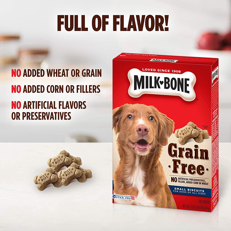 Milk-Bone Grain Free Dog Biscuits 624g