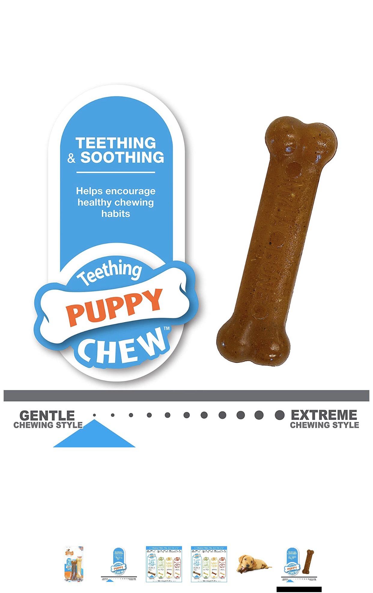 Nylabone Puppy Chew for Dog 15lbs