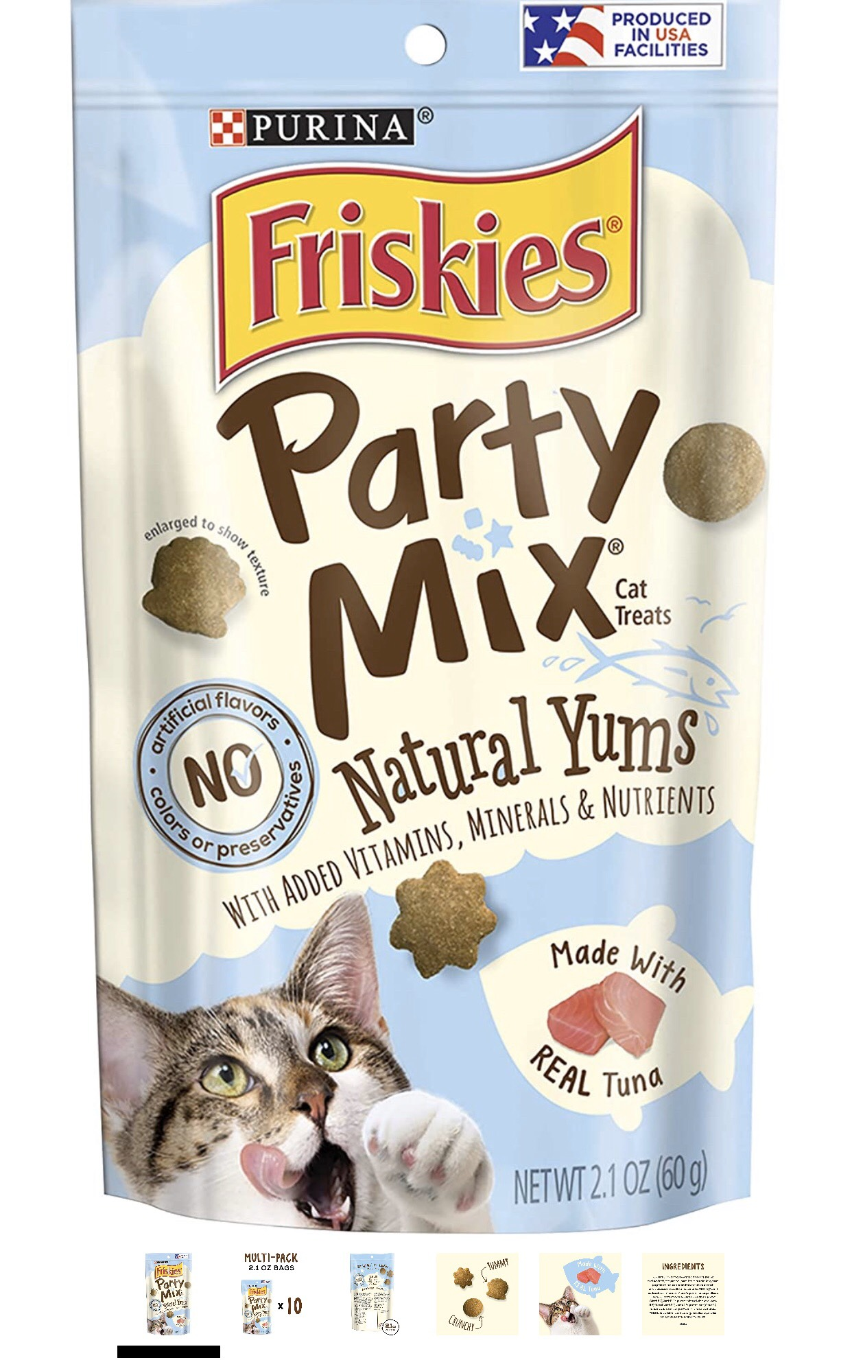 Friskies Party Mix Made With Real Tuna 60g