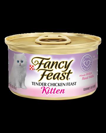 FANCY FEAST Kitten - Tender Chicken & Milk 85gr