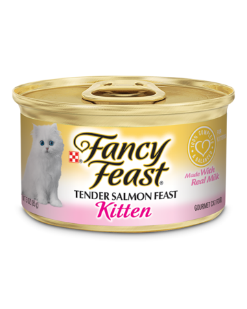FANCY FEAST Kitten - Tender Salmon & Milk 85g