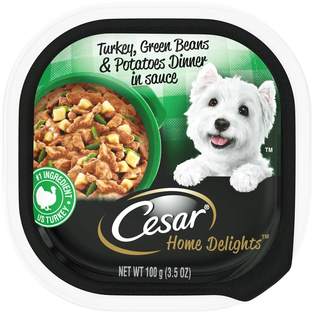 Cesar Turkey,Green Beans & Potatoea 100g