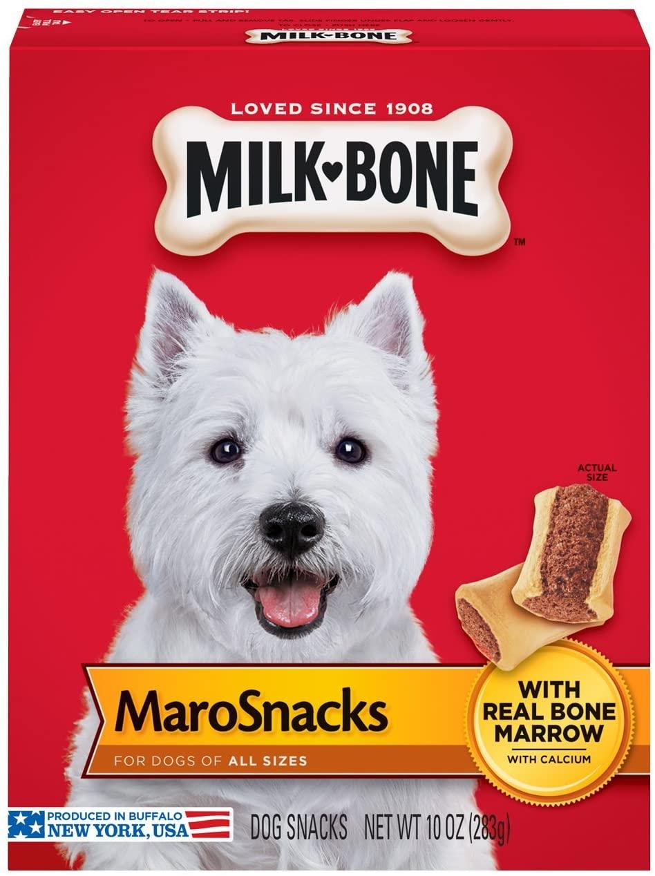 Milk-Bone MaroSnacks Dog Treats with Real Bone Marrow and Calcium 283g