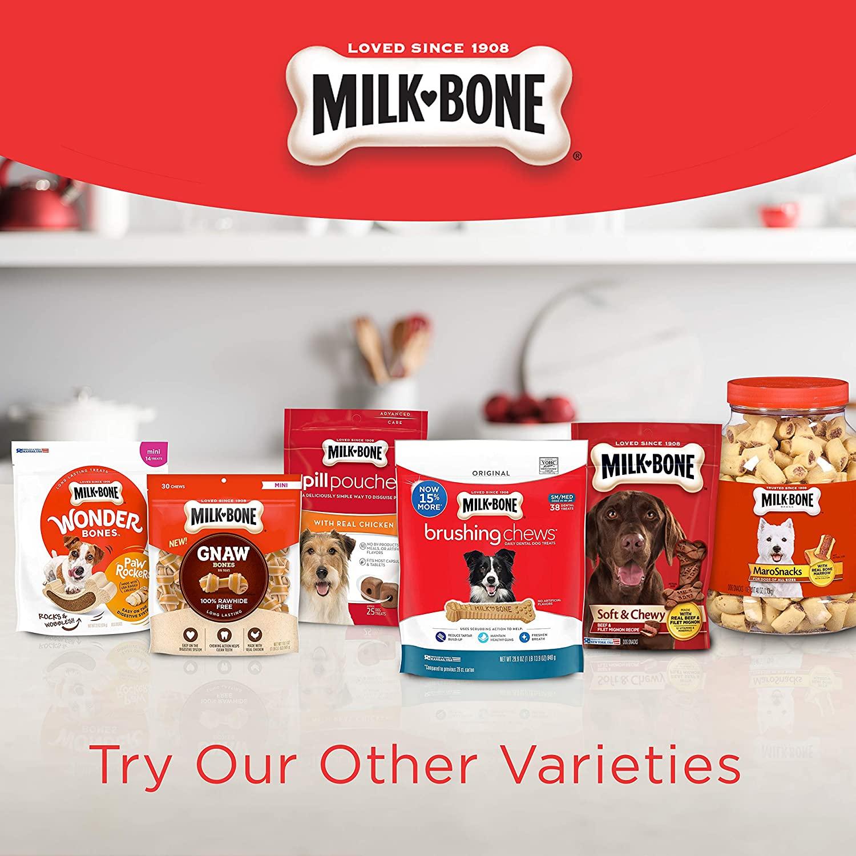 Milk-Bone Soft & Chewy Chicken Recipe Dog Treats 159g
