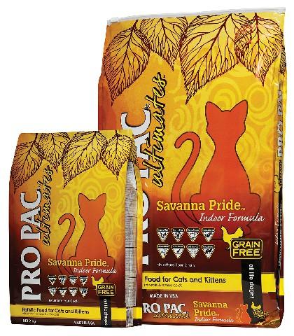 PRO PAC Ultimates Savanna Pride Indoor Formula 2kg&6kg
