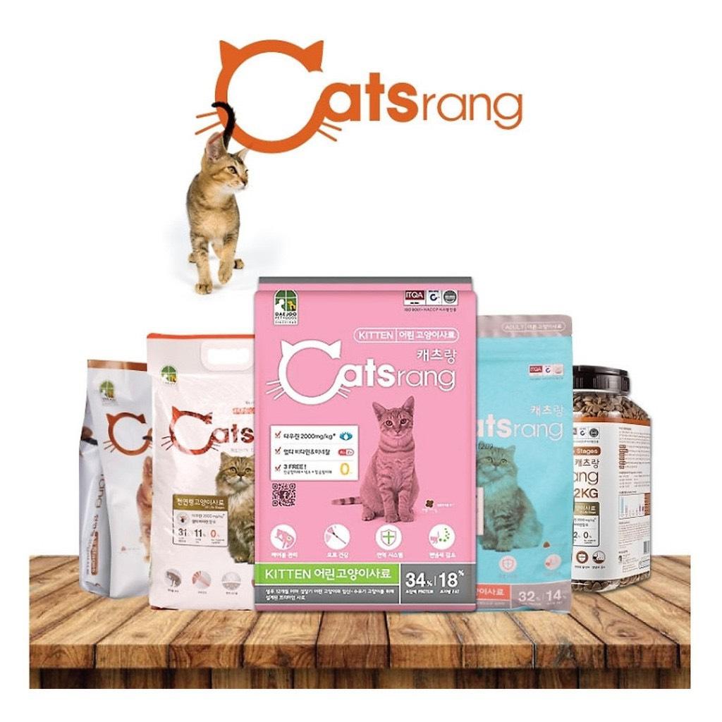 Thức Ăn Mèo Catsrang All Stages 5kg - Hàn Quốc
