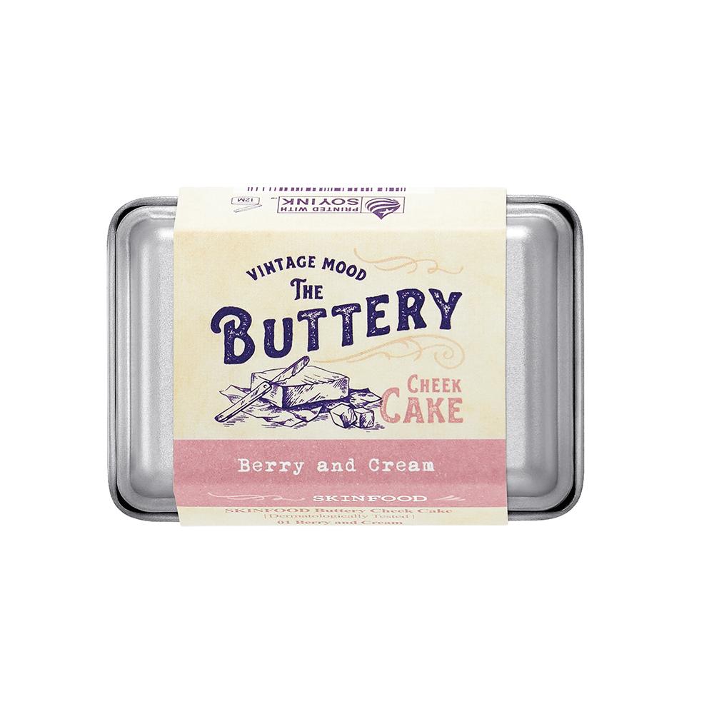 Má hồng SKINFOOD BUTTERY CHEEK CAKE