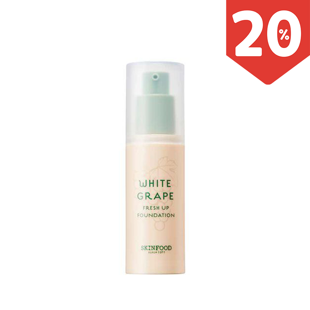 Kem nền WHITE GRAPE FRESH UP FOUNDATION