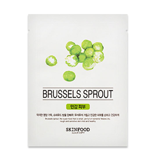 Mặt nạ miếng BEAUTY IN A FOOD MASK SHEET – BRUSSELS SPROUT