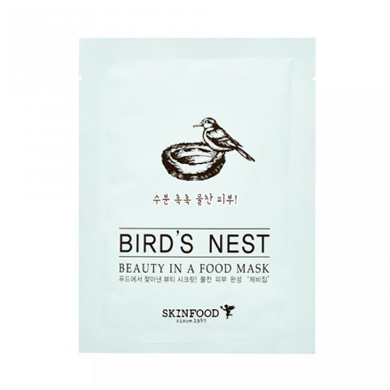 Mặt nạ miếng BEAUTY IN A FOOD MASK SHEET - BIRD'S NEST