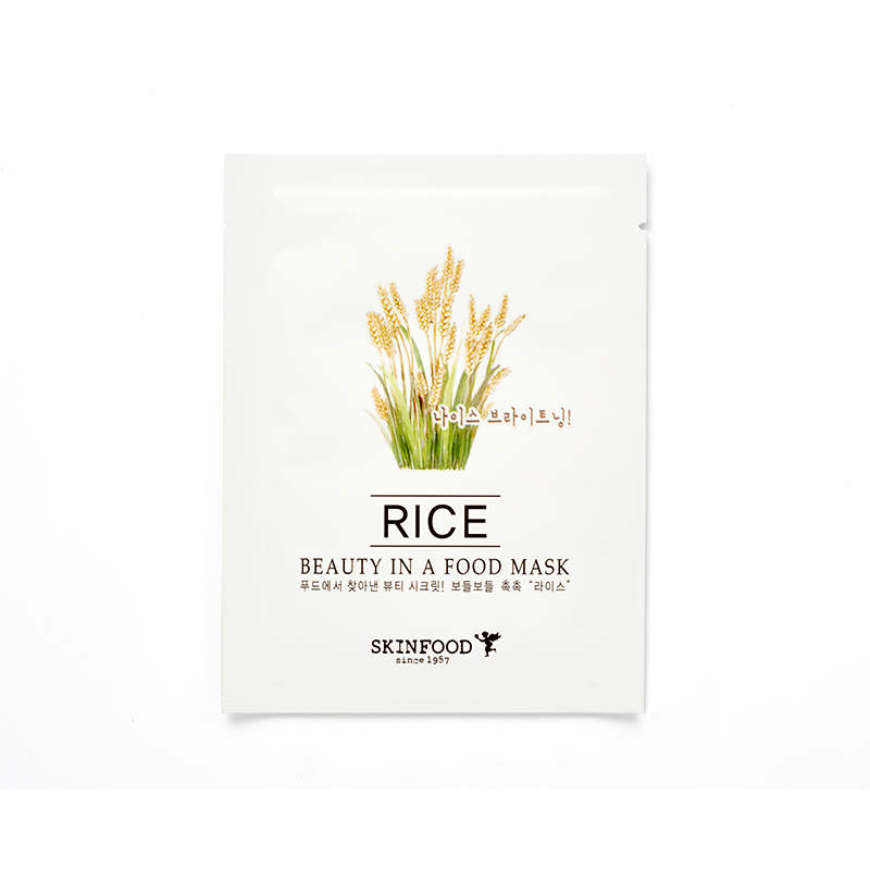Mặt nạ miếng BEAUTY IN A FOOD MASK SHEET – RICE