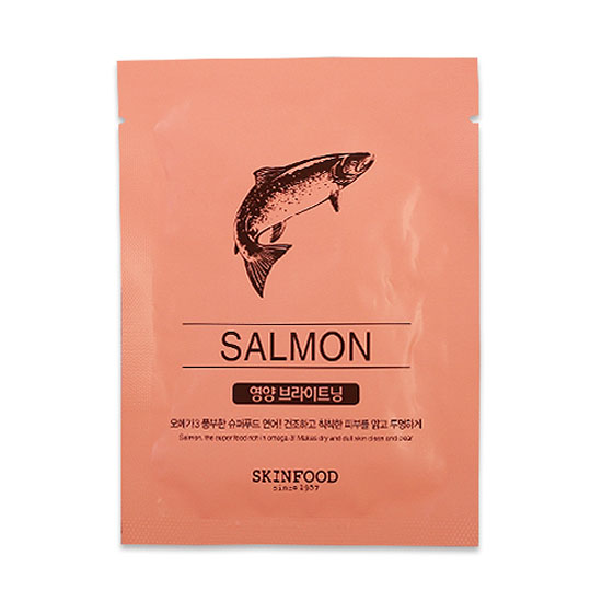 BEAUTY IN A FOOD MASK SHEET – SALMON
