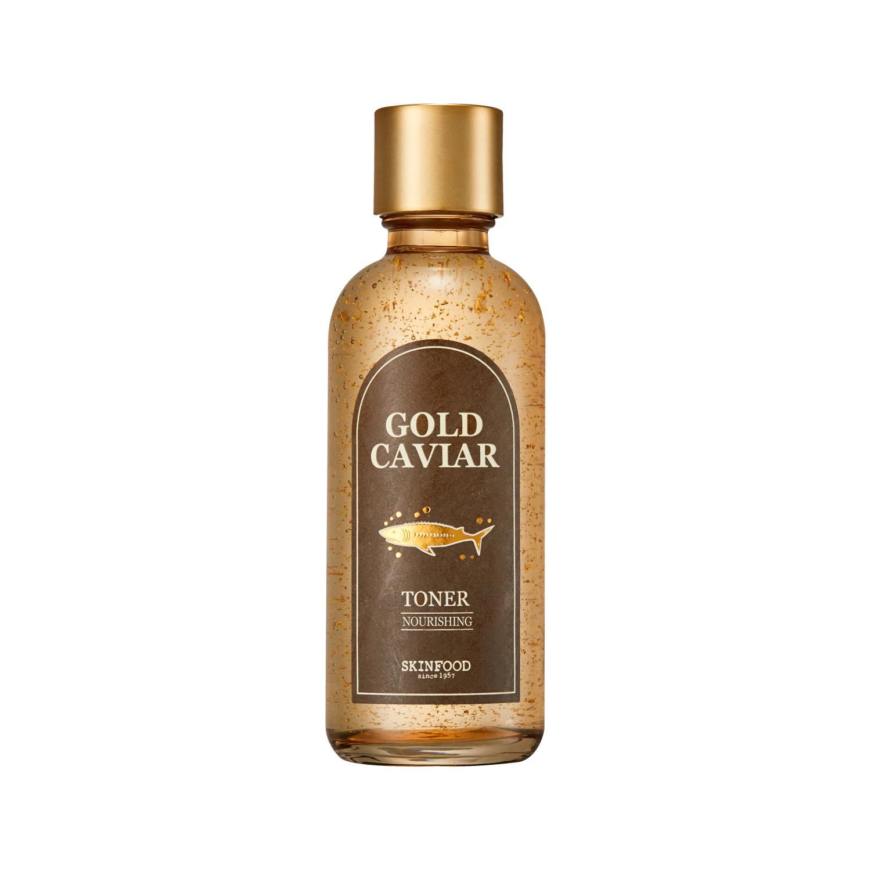 Nước cân bằng da SKINFOOD GOLD CAVIAR TONER