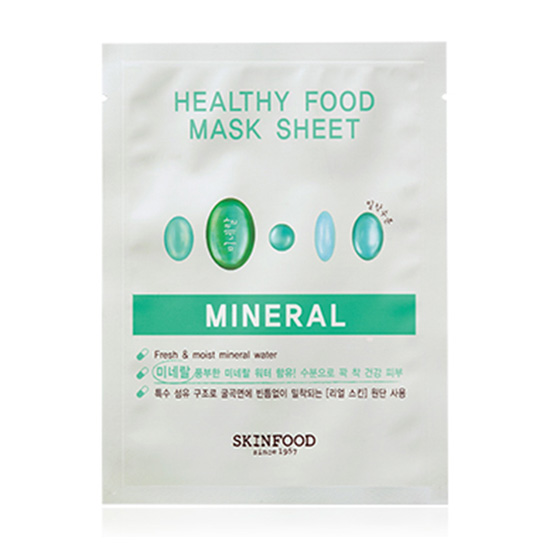 Mặt nạ HEALTHY FOOD MASK SHEET - MINERAL