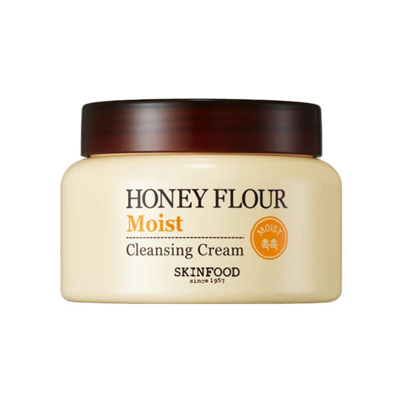 Kem tẩy trang HONEY FLOUR MOIST CLEANSING CREAM